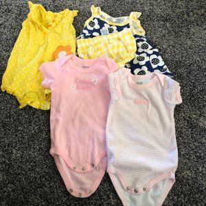 Bundle Of Girl Infant Clothes Newborn